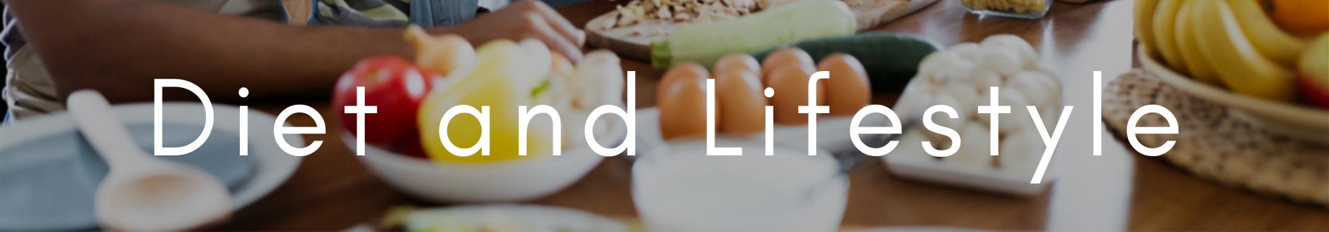 diet and lifestyle header